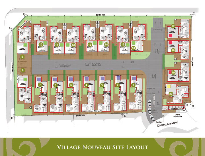 Village Nouveau Site Layout
